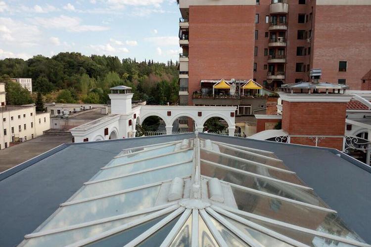 PVC waterproofing-IMPERIAL Hotel