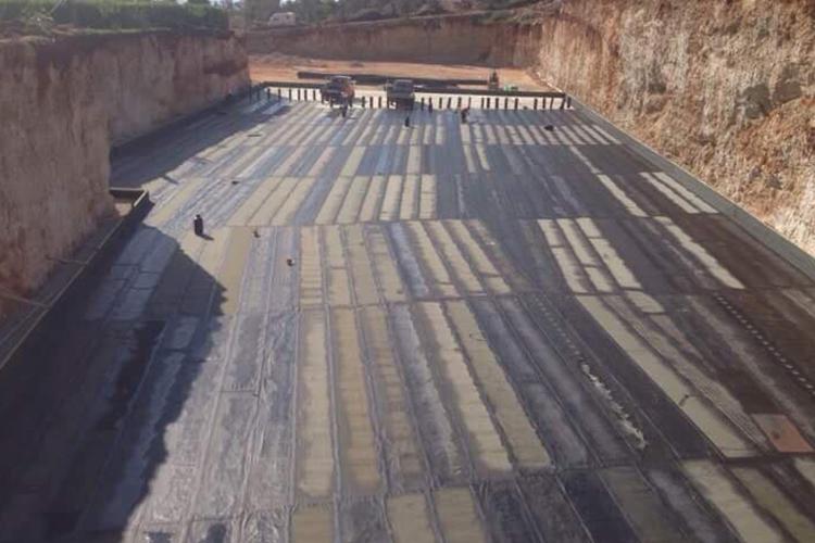 Foundation waterproofing-Dhermi 5200 square meters
