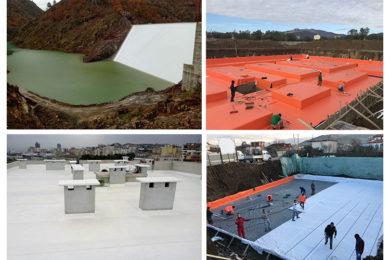 TPO/PVC GEOMEMBRANE WATERPROOFING
